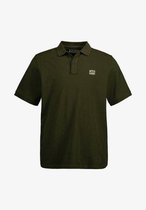 Poloshirt - dunkel oliv