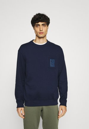 LOGO CREW - Sweatshirt - new navy