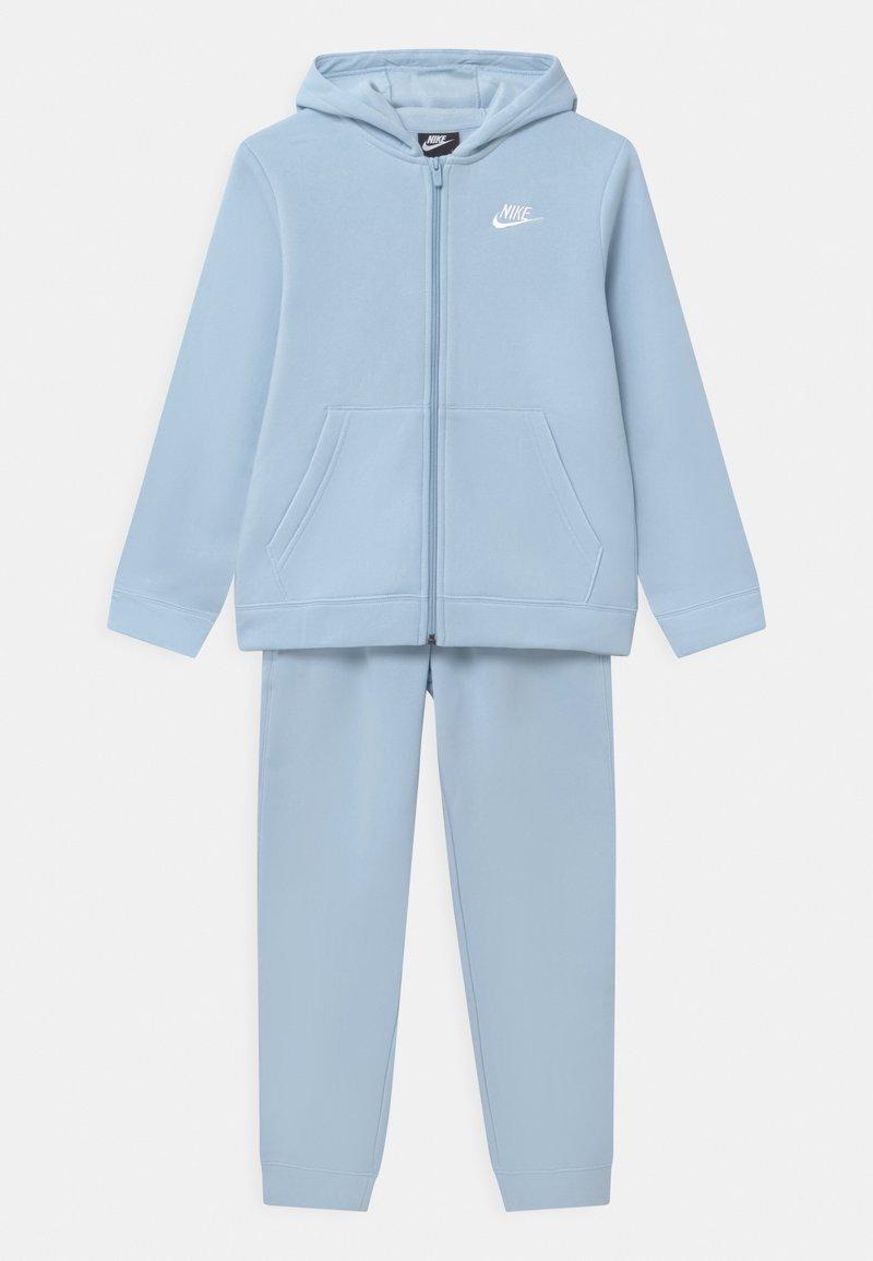 Nike Sportswear - CORE SET - Tepláková souprava - psychic blue/white