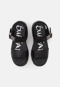 Buffalo - VEGAN JOJO - Platform sandals - black - 5
