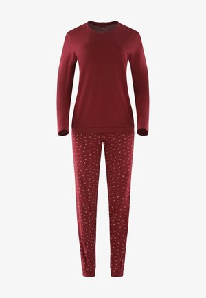 SEIDENSTICKER - Pyjama set - burgund