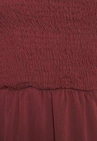 Trendyol - SIYAH - Cocktail dress / Party dress - burgundy - 5