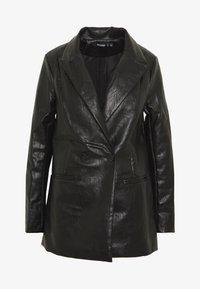Missguided - Short coat - black - 4
