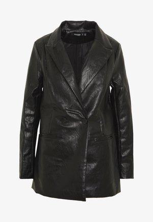 Kort kåpe / frakk - black