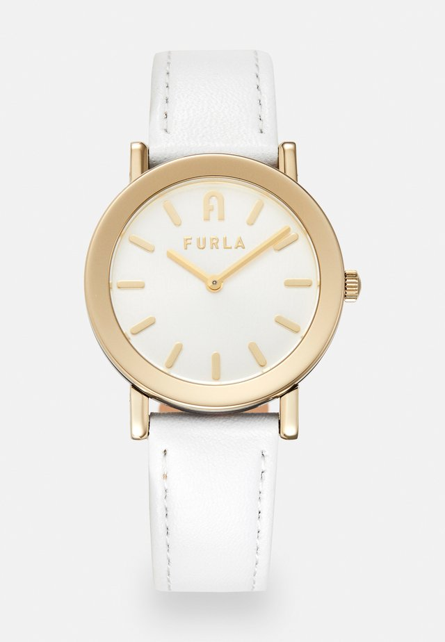FURLA MINIMAL SHAPE - Watch - white/gold-coloured