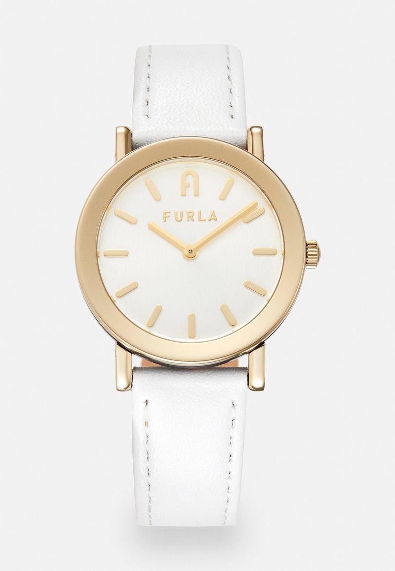 Furla - FURLA MINIMAL SHAPE - Hodinky - white/gold-coloured