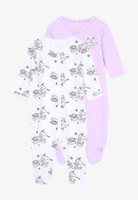 Name it - NBFNIGHTSUIT LAVENDULA 2 PACK - Pyjamas - lavendula - 3