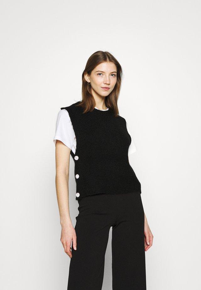 YASLINE - Jersey de punto - black