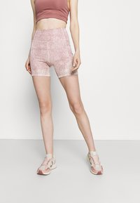 Cotton On Body - LIFESTYLE POCKET BIKE SHORT - Leggings - dusty rose - 0