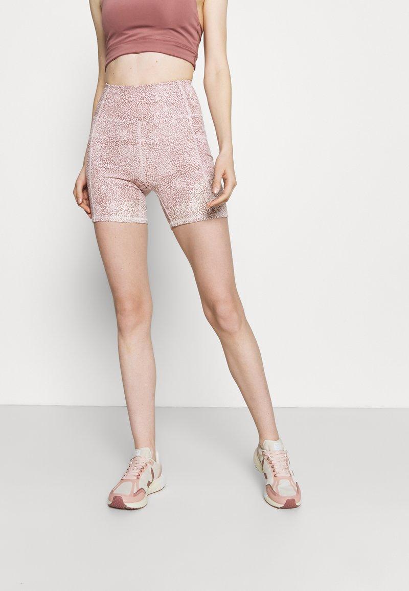 Cotton On Body - LIFESTYLE POCKET BIKE SHORT - Leggings - dusty rose