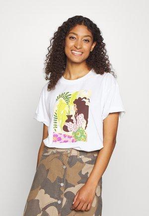 TOVI TEE - T-Shirt print - offwhite