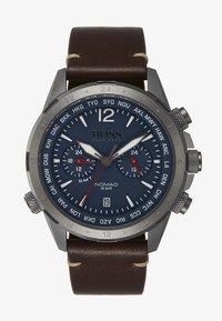 BOSS - WATCH - Chronograaf - brown/blue - 1