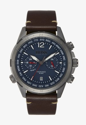 WATCH - Chronograph - brown/blue