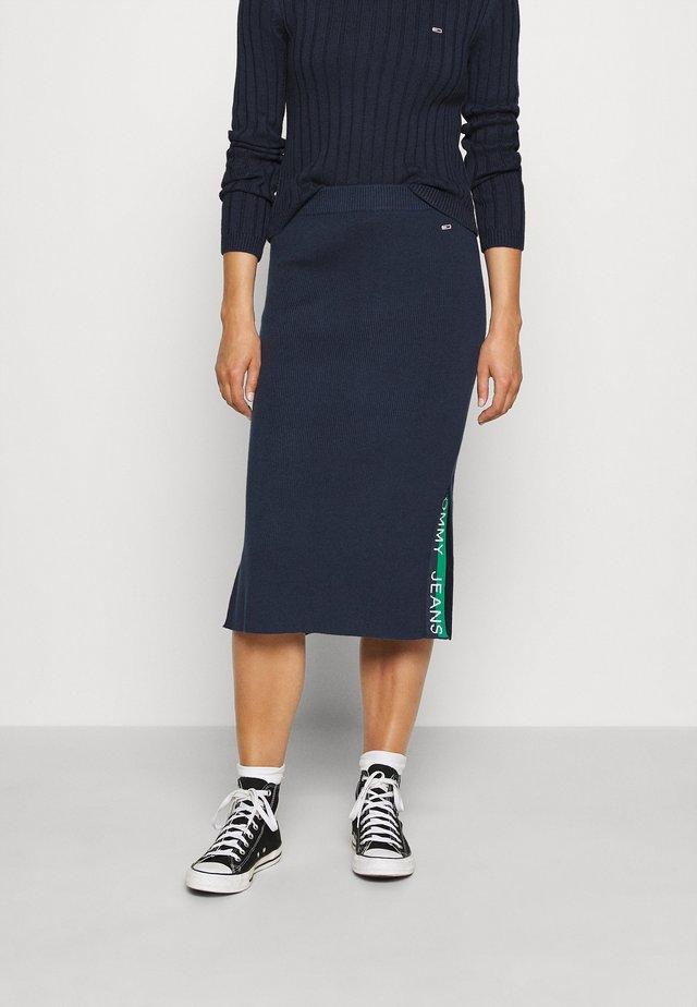 SKIRT - Pencil skirt - twilight navy