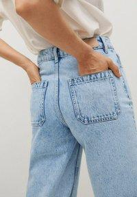 Mango - CAROL - Flared Jeans - light blue - 4