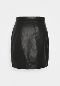Iro - UNGA - Leather skirt - black - 1