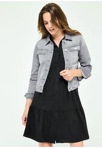 LolaLiza - Denim jacket - grey - 0