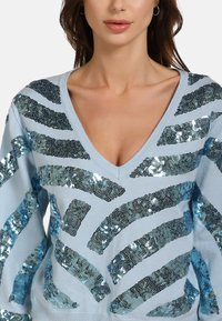 faina - Jumper - light blue - 3