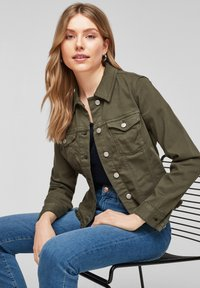 s.Oliver - Denim jacket - khaki - 6