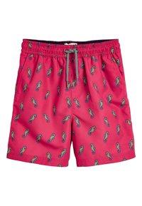 Next - CORAL SEAHORSE SWIM SHORTS (3MTHS-16YRS) - Swimming shorts - pink - 0