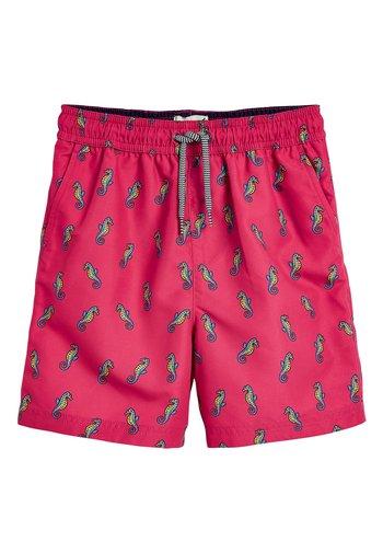 CORAL SEAHORSE SWIM SHORTS (3MTHS-16YRS) - Swimming shorts - pink