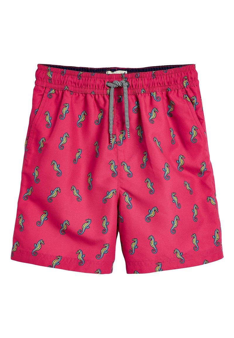 Next - CORAL SEAHORSE SWIM SHORTS (3MTHS-16YRS) - Swimming shorts - pink