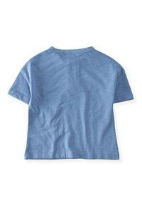 Cigit - POCKET - Print T-shirt - blue - 1