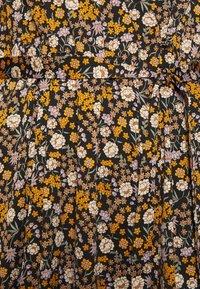 Scotch & Soda - PRINTED WRAPOVER DRESS - Maxi šaty - combo - 4
