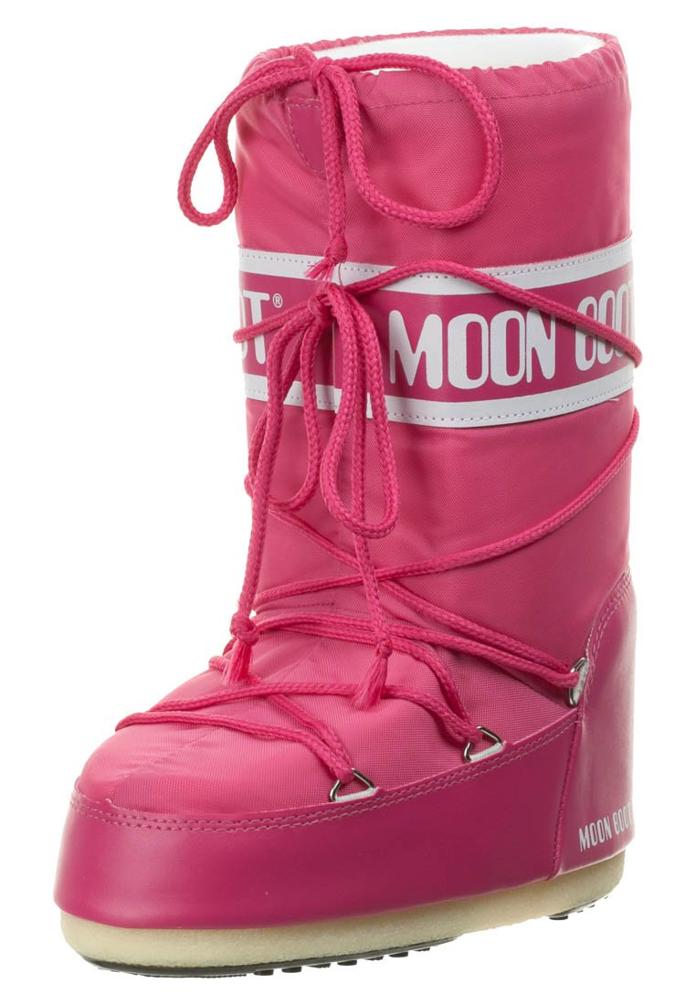 Moon Boot - NYLON - Winter boots - bouganville