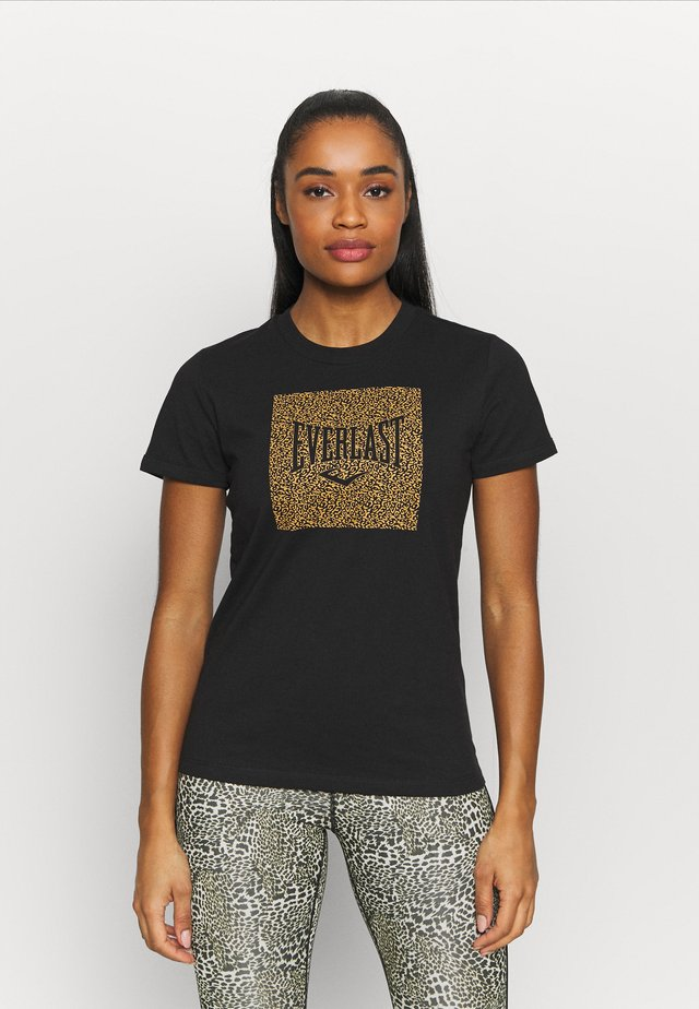 BRYANT - T-shirt con stampa - black