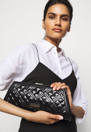 BORSA QUILTE  SCURO - Sac à main - black