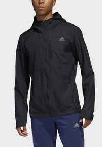 adidas Performance - OWN THE RUN HOODED WINDBREAKER - Training jacket - black - 4