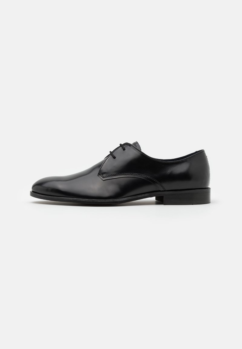 Burton Menswear London - WEAVER DERBY - Smart lace-ups - black