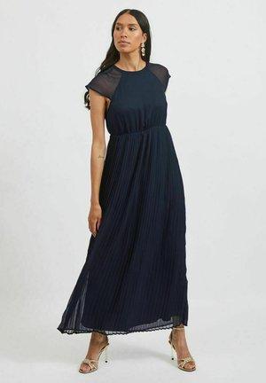 Maxi dress - navy blazer