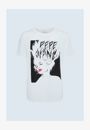 FABIANA - Print T-shirt - off-white
