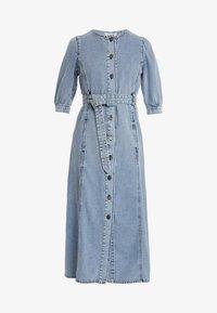 Gestuz - PIETTA DRESS - Denim dress - light-blue denim - 4