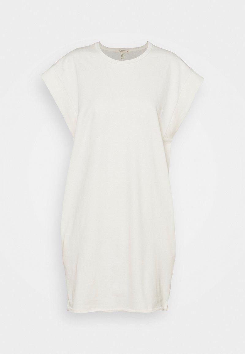 rag & bone - RYDER MUSCLE MINI DRESS WHITE LABEL - Jersey dress - macadamian