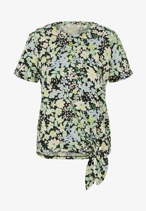 Print T-shirt - flower print