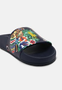 Polo Ralph Lauren - CAYSON UNISEX - Pantofle - dark blue - 6