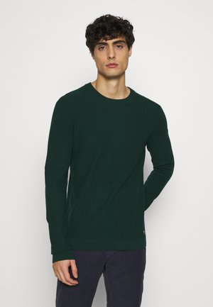 BRICK WALL STRUCTURE CREWNECK - Stickad tröja - deep green lake