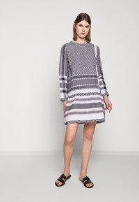 CECILIE copenhagen - DRESS - Denní šaty - black/stone - 1
