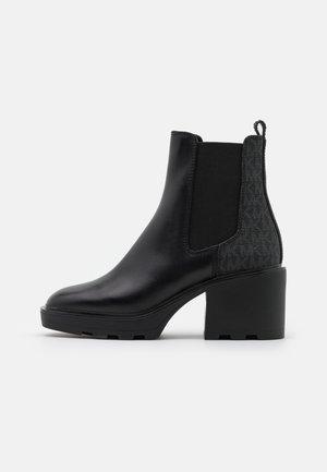 KEISHA BOOTIE - Kotníkové boty na platformě - black
