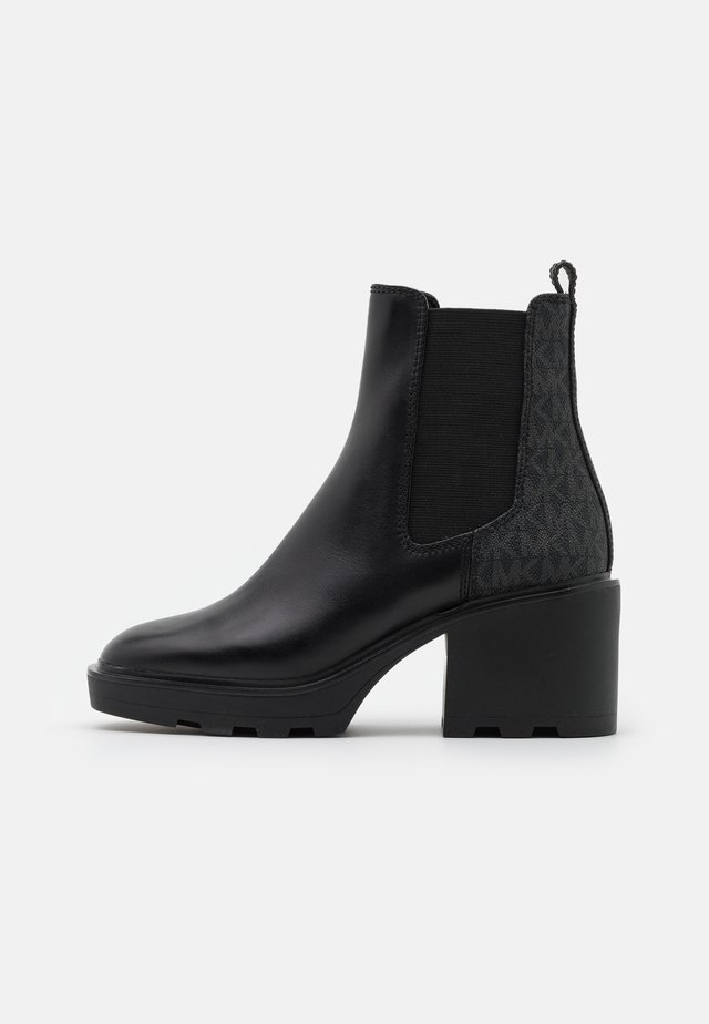 KEISHA BOOTIE - Botines con plataforma - black