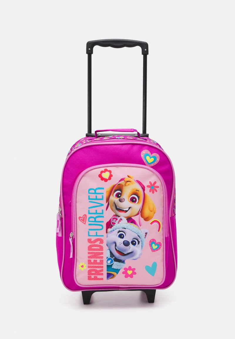 Fabrizio - PAW PATROL KIDS TROLLEY UNISEX - Wheeled suitcase - rose