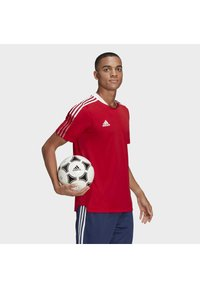 adidas Performance - TIRO 21 - Triko s potiskem - team power red - 3