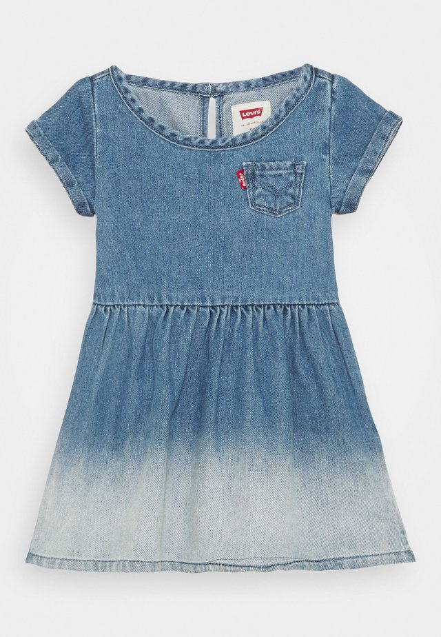 SHORT SLEEVE DRESS - Denim dress - milestone