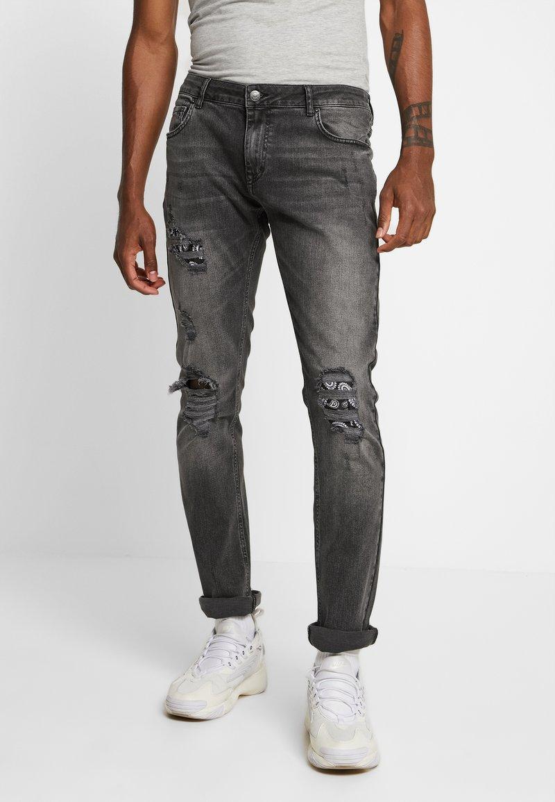 YOURTURN - Jeans slim fit - grey denim