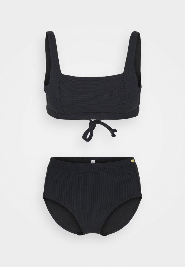 BUSTIER SET - Bikini - black