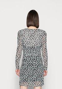Fabienne Chapot - MARIE DRESS - Shift dress - black/emerald - 2