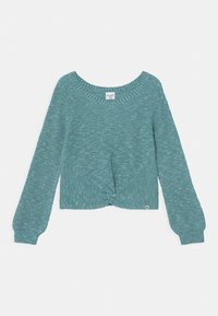 Abercrombie & Fitch - TWIST FRONT  - Jumper - blue marl - 0